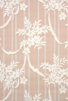 This roll of wallpaper is an authentic, old stock roll from the It is a full double roll, which will cover approximately 50 sq. Antique Wallpaper, Of Wallpaper, Wallpaper Designs, Designer Wallpaper, 1930s, Interior Decorating, Homes, Interiors, Graphic Design