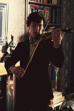 I swear nothing is more attractive than a man playing violin.