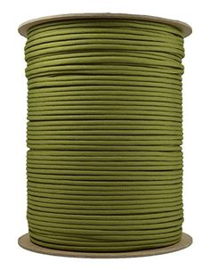 BoredParacord Brand Paracord 1000 ft Spool  Moss >>> See this great product.