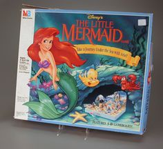 107.1627: The Little Mermaid Game: Take a Journey Under the Sea with Ariel! | board game | Board Games | Games | Online Collections | The Strong