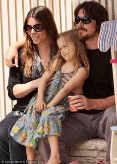 christian bale and family