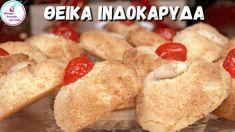 Ευκολα Ινδοκαρυδα Παραδοσιακη Συνταγη Ατομικα Κερασματα Καρυδες με ΜΟΝΟ ... Cereal, Cheese, Cookies, Breakfast, Youtube, Recipes, Food, Crack Crackers, Morning Coffee