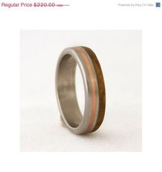 mother s day SALE mens wedding band titanium ring by aboutjewelry, $187.00
