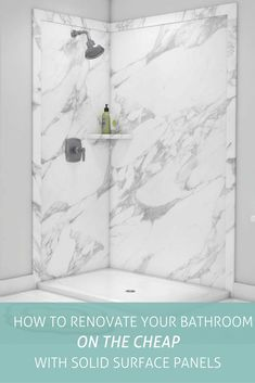 Renovate your bathroom on a budget! Solid surface shower wall panels create beautiful bathrooms at a fraction of the cost. Get the free DIY guide now. DIY Shower Panels Bathroom Remodel Cheap Cheap Shower Panels Source by innovatebuild Cheap Bathroom Remodel, Shower Remodel, Budget Bathroom, Simple Bathroom, Bathroom Renovations, Bathroom Ideas, Bathroom Taps, Remodled Bathrooms, Bathroom Makeovers