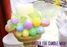 Easter Egg Candle Wrap | Monika Wright
