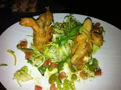 Soft Shell Crabs at Allium in the Four Seasons Chicago