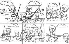 Secuencia de imagenes para cuento infantil - Imagui
