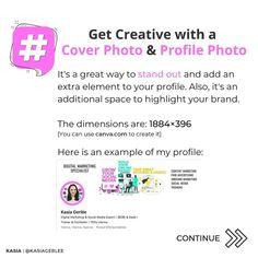 Kasia Gerlée   Social Media 💛 (@kasiagerlee) • Zdjęcia i filmy na Instagramie Your Profile, Profile Photo, Personal Branding, Cover Photos, Improve Yourself, Social Media, Ads, Creative, Instagram