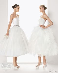 Rosa Clara Bridal Tea Length 2013
