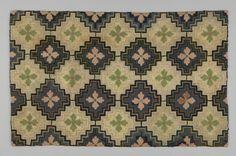 Hand hooked Canadian rug, Circa 1900 - 1920