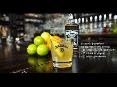 Jak zrobić Whiskey Sour - przepisy na drinki na Mojbar.pl - YouTube Nutribullet, Jack Daniels, Pint Glass, Beer, Tableware, Youtube, Root Beer, Ale, Dinnerware