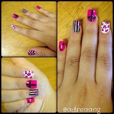 Black nails  Glitter nails  Acrylic nails  Nail designs  Simple designs