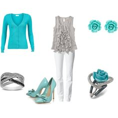I have the earrings and one ring already.. I would have to switch out the heels for flats. Arthritis said so.