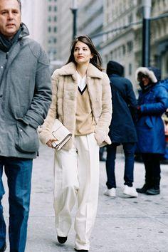 27 Trendy Fashion Street Style New York Vanessa Jackman Milan Fashion Weeks, London Fashion, New York Fashion, Vanessa Jackman, Fashion Editorial Nature, Trendy Fashion, Winter Fashion, Fashion Models, Stockholm Street Style