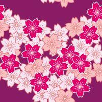 Japanese Patterns, Japanese Fabric, Glitter Wallpaper, Japan Art, Pattern Fashion, Textile Design, Cherry Blossom, Textiles, Illustration