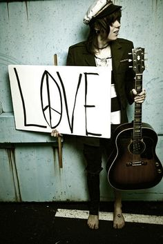 Christofer Drew. hippie to the max but he doesnt hate and always spreads love. just want to cuddle him!