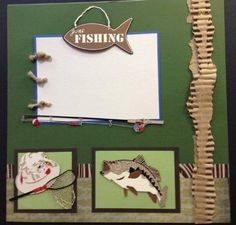 17 Best images about Fishing/Outdoors Scrapbook Layouts on Pinterest | Alaska cruise, Gone ...