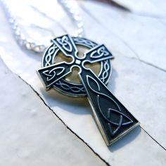 Irish Celtic, Celtic Knot, Celtic Crosses, Timeless Classic, Cross Pendant, Knots, Reflection, Ireland, Feels