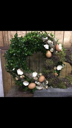 Easter Wreaths, Spring, Diy, Planting, Easter Activities, Nature, Bricolage, Do It Yourself, Homemade