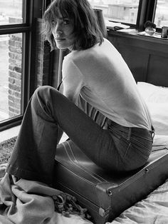 Alexa Chung for AG Jeans Fall/Winter 2016 by Theo Wenner