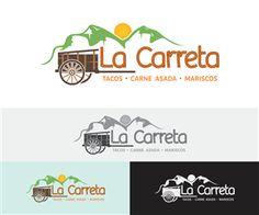 "Logo Mexican local restaurant  ""La Carreta"" ""th... Bold, Personable Logo Design by NaranjoBoy84"