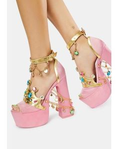 Bow Heels, Cute Heels, Pink Heels, Shoes Heels, Fancy Shoes, Pretty Shoes, Crazy Shoes, Dr Shoes, Me Too Shoes