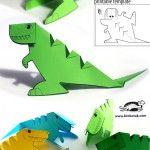 Glue-lee+printable+dinosaur