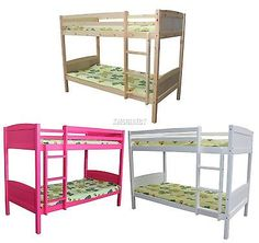 Foxhunter 3ft #wooden #frame bunk bed wood #children sleeper single new furniture,  View more on the LINK: 	http://www.zeppy.io/product/gb/2/131671618569/