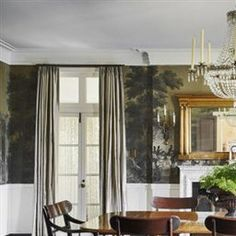History inspired Dining room | Dining Rooms | LUXE Source