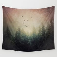 Popular Photography Nature Forest Tapestries | Society6