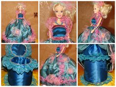 These jewelry box dolls are made with padded and beautifully line compartment to store your precious jewelry pieces.