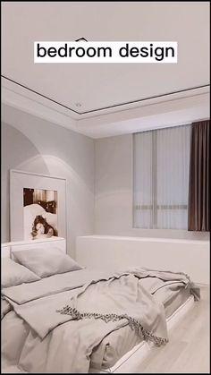 Small Room Design Bedroom, Small House Interior Design, Bedroom Furniture Design, Room Ideas Bedroom, Home Room Design, Dream Home Design, Home Decor Bedroom, Pinterest Room Decor, Study Room Decor