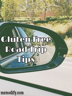 Traveling while you're gluten free can be challenging at times, but all you need to do is modify your planning and you will still having an amazing trip!