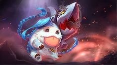 Carnival may have come and gone, but the poros aren't done celebrating! Check out the preview below with them dressed as your favorite champions before visiting the full gallery on Imgur.  GAH. CHAMPION POROS