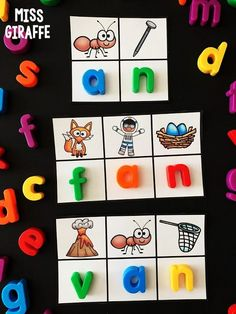 an word family activities and more fun word building games for each short vowel sound! Short Vowel Activities, Word Family Activities, Cvc Word Families, Spelling Activities, Family Games, Short E Words, Sounding Out Words, Phonics Sounds, Short Vowels