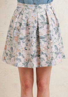 Garden House Tweed Skirt