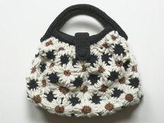 Knit Kit: gehäkelte handtasche - croched handbag