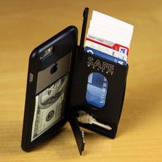 BulletTrain is raising funds for SAFE Wallet Case for iPhone 6 Plus on Kickstarter! The ULTIMATE Protective iPhone 6 Plus Wallet Case with built-in kickstand and Secret Stashes! Simplify Your Wallet—Simplify Your Life! Iphone 6 Cases, Iphone 6 Plus Case, Iphone Wallet, Windows 10 Gratis, Radios, Cool Gadgets, Latest Gadgets, Travel Gadgets, Iphone Accessories