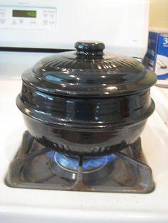 korean cookware | Korean Clay Pot with Lid http://phlymoge.blogspot.com/