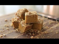 Pumpkin Coffee Cakes - YouTube