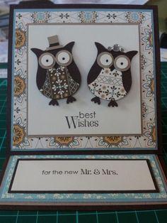 wedding easel card by Chloe Evans