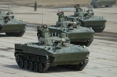 New BMD-4M for the Airborne forces