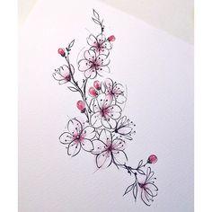 Flowers Eye Makeup eye makeup 60 year olds Tattoo Drawings, Body Art Tattoos, Small Tattoos, Sleeve Tattoos, Girl Tattoos, Flower Tattoo Designs, Orchid Flower Tattoos, Future Tattoos, Back Tattoo