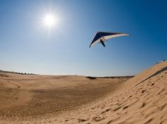 Hang Gliding, North Carolina - Outer Banks Photo - National Geographic Photo of the Day with Kitty Hawk Kites