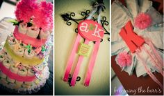 homemade diy baby shower decorations
