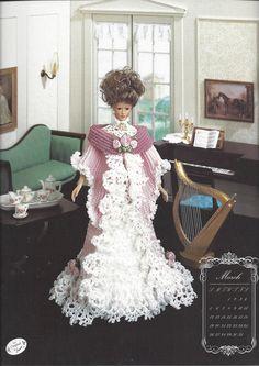 Tea Gown Miss March 1994 Crochet Pattern by KnitKnacksCreations