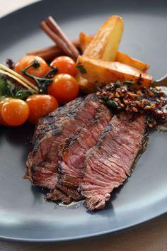 Hearty Beer Marinated Steak