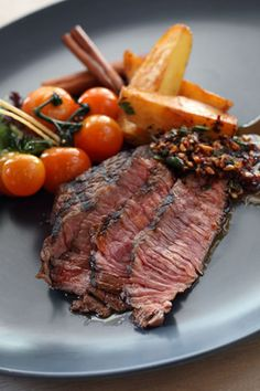 Steak Marinade with Beer and Garlic