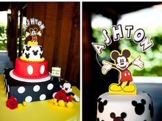 Mickey Mouse Birthday Party « Spearmint Baby