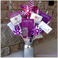 """A Jamberry """"bouquet"""" would make a great gift for Mother's Day or any occasion!  This would be a great giveaway at fairs and parties!"""